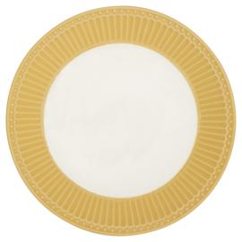 Greengate Ontbijtbord/plate Alice honey mustard.