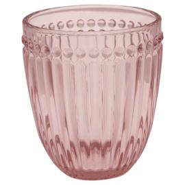 Greengate Waterglas Alice pink
