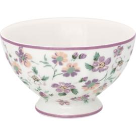 Greengate French bowl medium Marie petit dusty rose