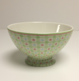 Greengate Soupbowl Mimi pale green