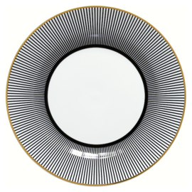 Greengate Plate/bord Corine black.