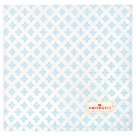Greengate Napkin/servet Sasha blue 40x40cm