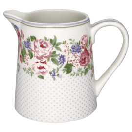 Greengate Jug Rose white, 0,5 Ltr