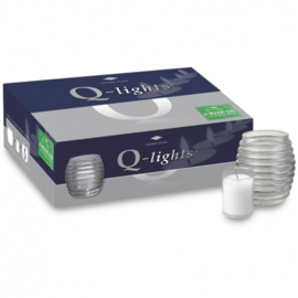 Q-lights Cocoon glass clear