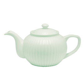 Greengate Theepot Alice pale green.