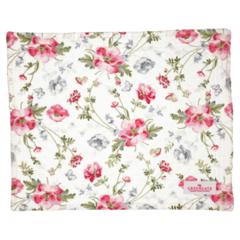 Greengate Placemat quilted Meadow white