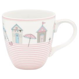 Greengate Kids mug/beker Ellison pale pink