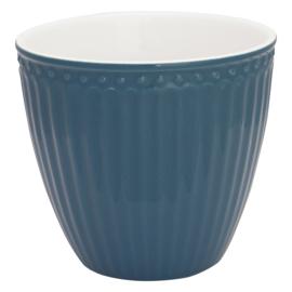 Greengate Latte cup/beker Alice ocean blue.