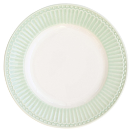 Greengate Gebaksbordje/small plate Alice pale green.