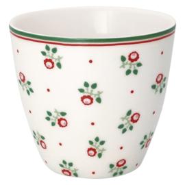 Greengate Latte cup/beker Abi petit white