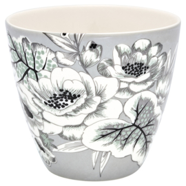 Latte cup/beker Felicity grey.