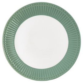 Greengate Ontbijtbord/plate Alice dusty green