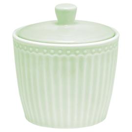 Greengate Suikerpot/Sugarpot  Alice pale green