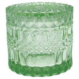 Greengate Jar round green medium