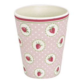 Greengate Cup Strawberry pale pink