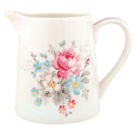 Greengate Jug Marie pale grey 0,5 Ltr