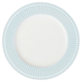 Ontbijtbord/plate Alice pale blue.