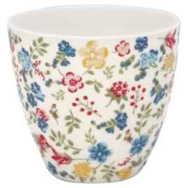 Greengate Latte cup/beker Sophia white.