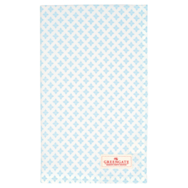 Greengate Theedoek / tea towel Sasha blue