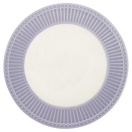 Greengate Ontbijtbord/plate Alice lavender.