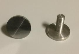 Afdekdop aluminium