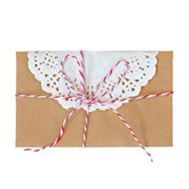 Greengate Card kit Star red