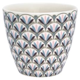 Greengate Latte cup/beker Victoria white.