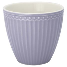 Greengate Latte cup/beker Alice lavendar.