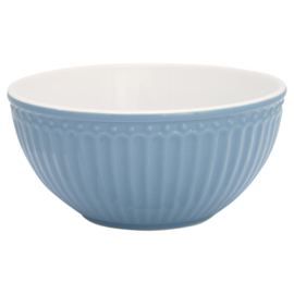 Greengate Cereal bowl Alice sky blue