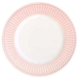 Greengate Gebaksbordje/small plate Alice pale pink.