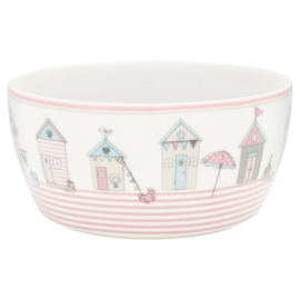 Greengate Kids bowl Ellison pale pink