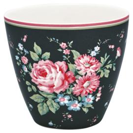 Latte cup/beker Marley dark grey