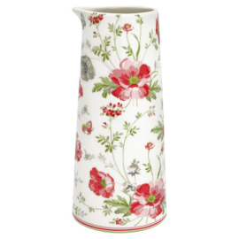 Greengate Jug Meadow white 0,7l