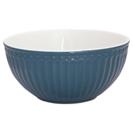 Greengate Cereal bowl Alice ocean blue