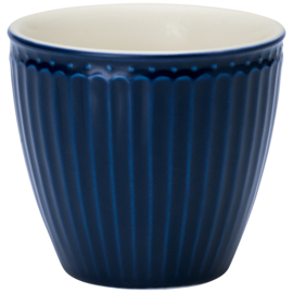 Greengate Latte cup/beker Alice dark blue.