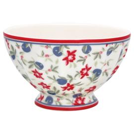 French bowl medium Helena white.