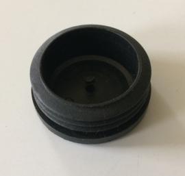 inslagdop zwart Ø 38mm.