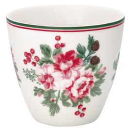Greengate Latte cup/beker Charline white