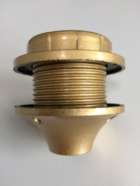 Fitting E27 goudkleur