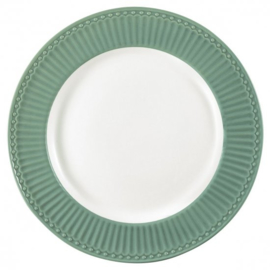 Greengate Dinerbord /dinnerplate Alice dusty green