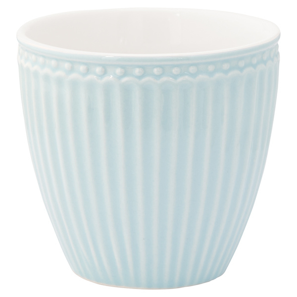 Latte cup/beker Alice pale blue.
