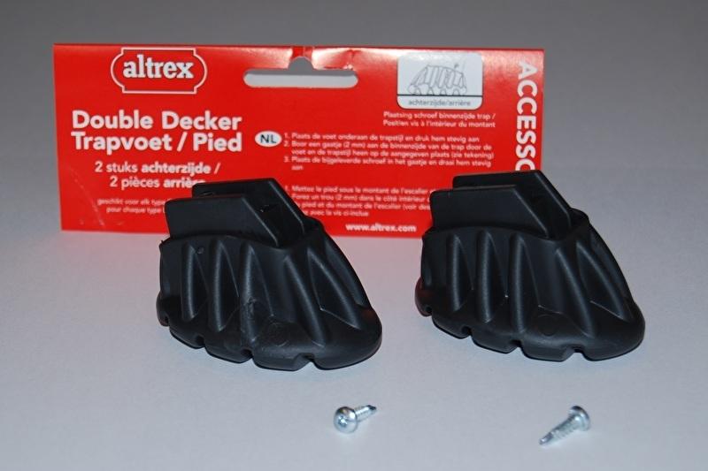 Altrex double decker 509029 trapvoet achter klein