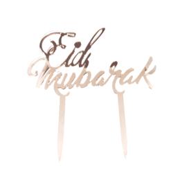 EID MUBARAK TAARTTOPPER ACRYL LETTERS