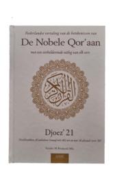 De nobele Qor'aan deel 21