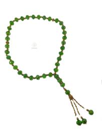 Kristal tasbih groen