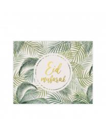 Placemats Eid mubarak Tropical