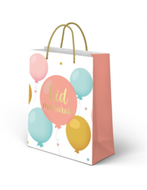 Giftbag Eid Mubarak Ballonnen