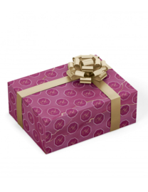 Eid mubarak cadeaupapier Bordeaux/Paars
