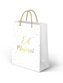 Giftbag Eid Mubarak Wit Goud