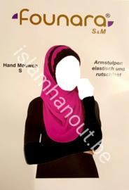 Hand mouwen(zwart)
